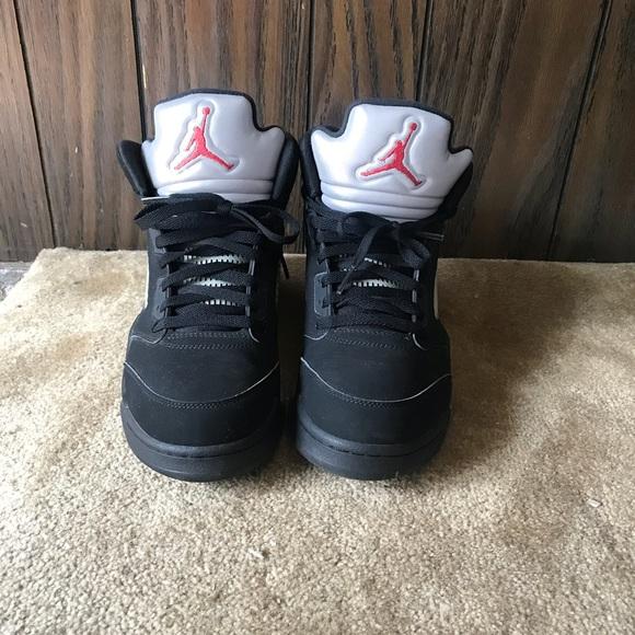 eed4dee5ec61 nike air jordans 5s mens size 10.5 boots shoes